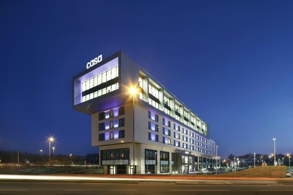 cassa hotel accommodation chesterfield