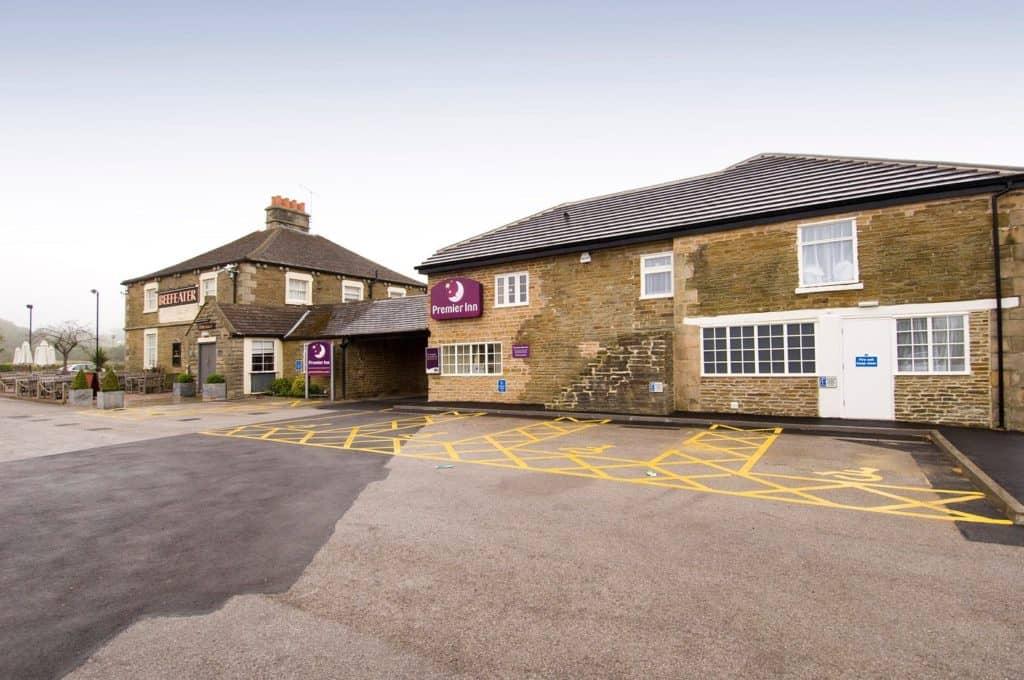 premier inn accommodation chesterfield