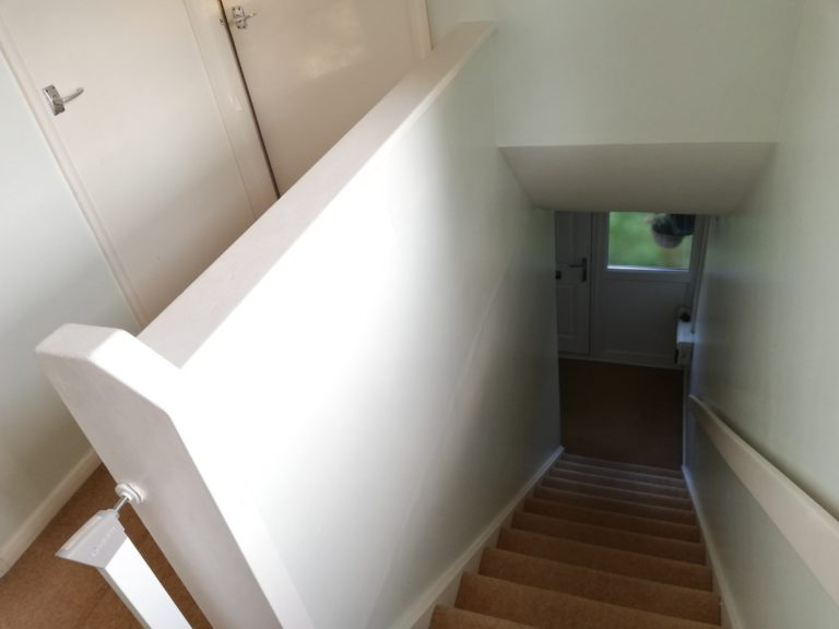 A Small Hall/Stairs/Landing in Chesterfield: A Case Study